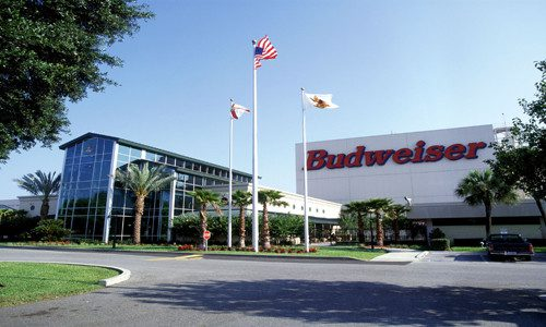 Budweiser Brewery Entrance