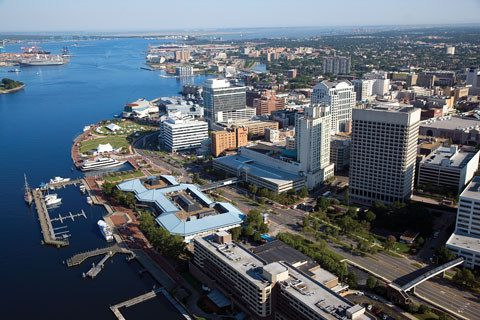 Downtown Norfolk Waterfront