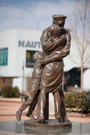 The Homecoming Statue