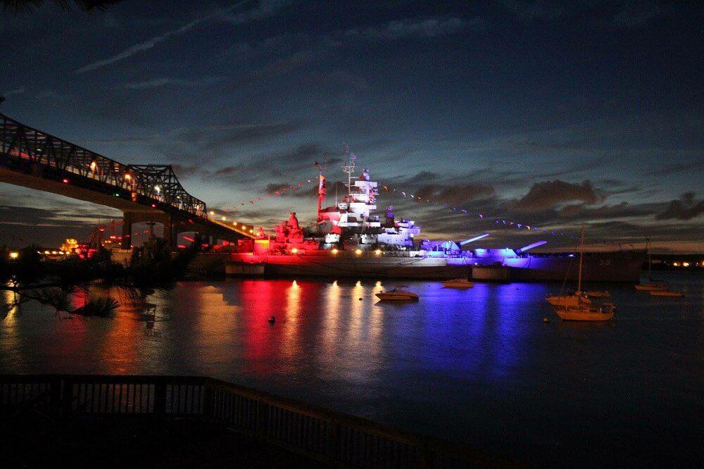 Battleship Cove - USS Massachusetts