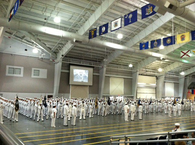 Great Lakes Graduation Drill