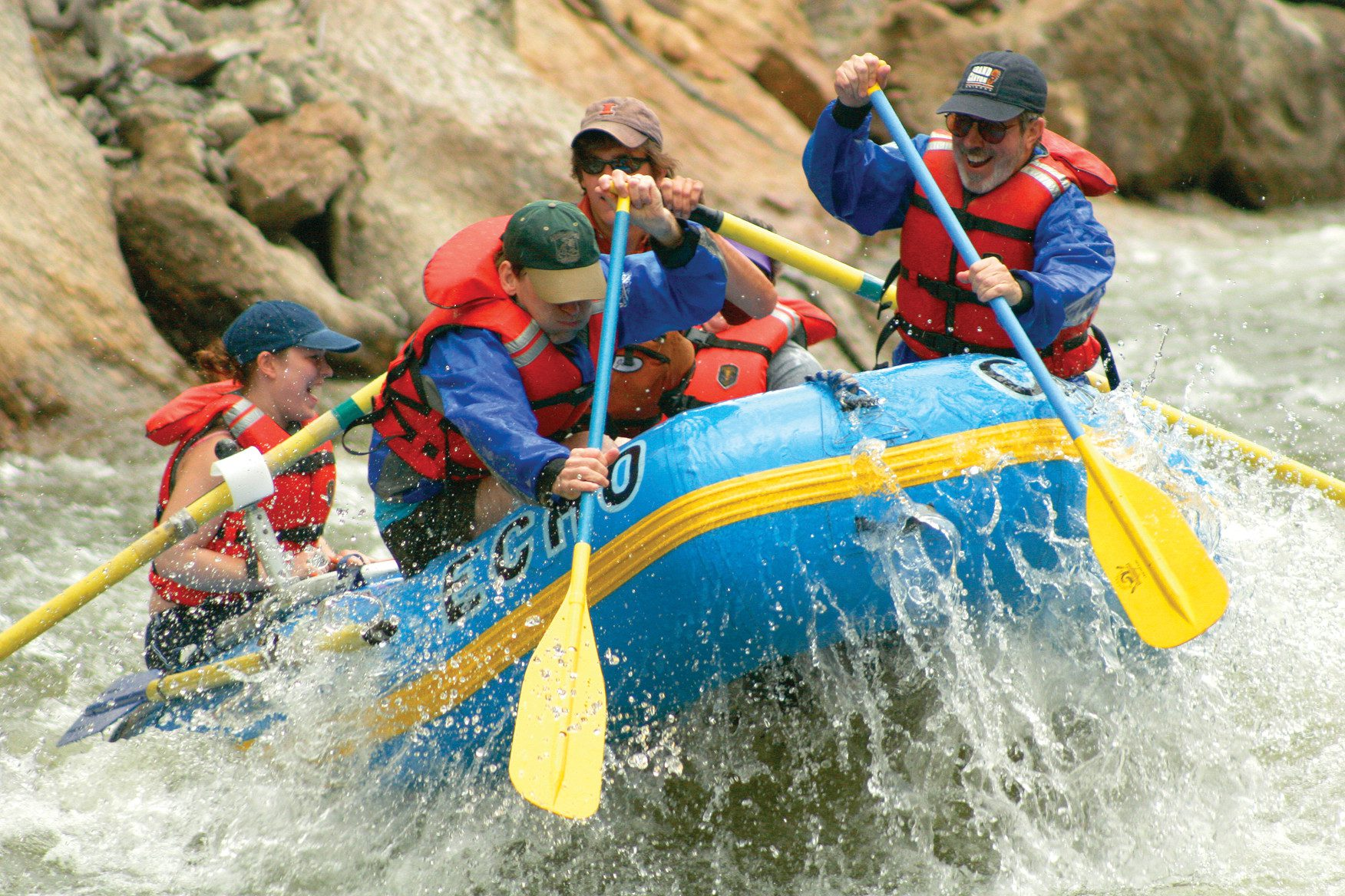 Tackle the rapids on a whitewater expedition down the Arkansas through the Royal Gorge