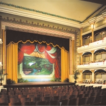 Springer Opera House Stage
