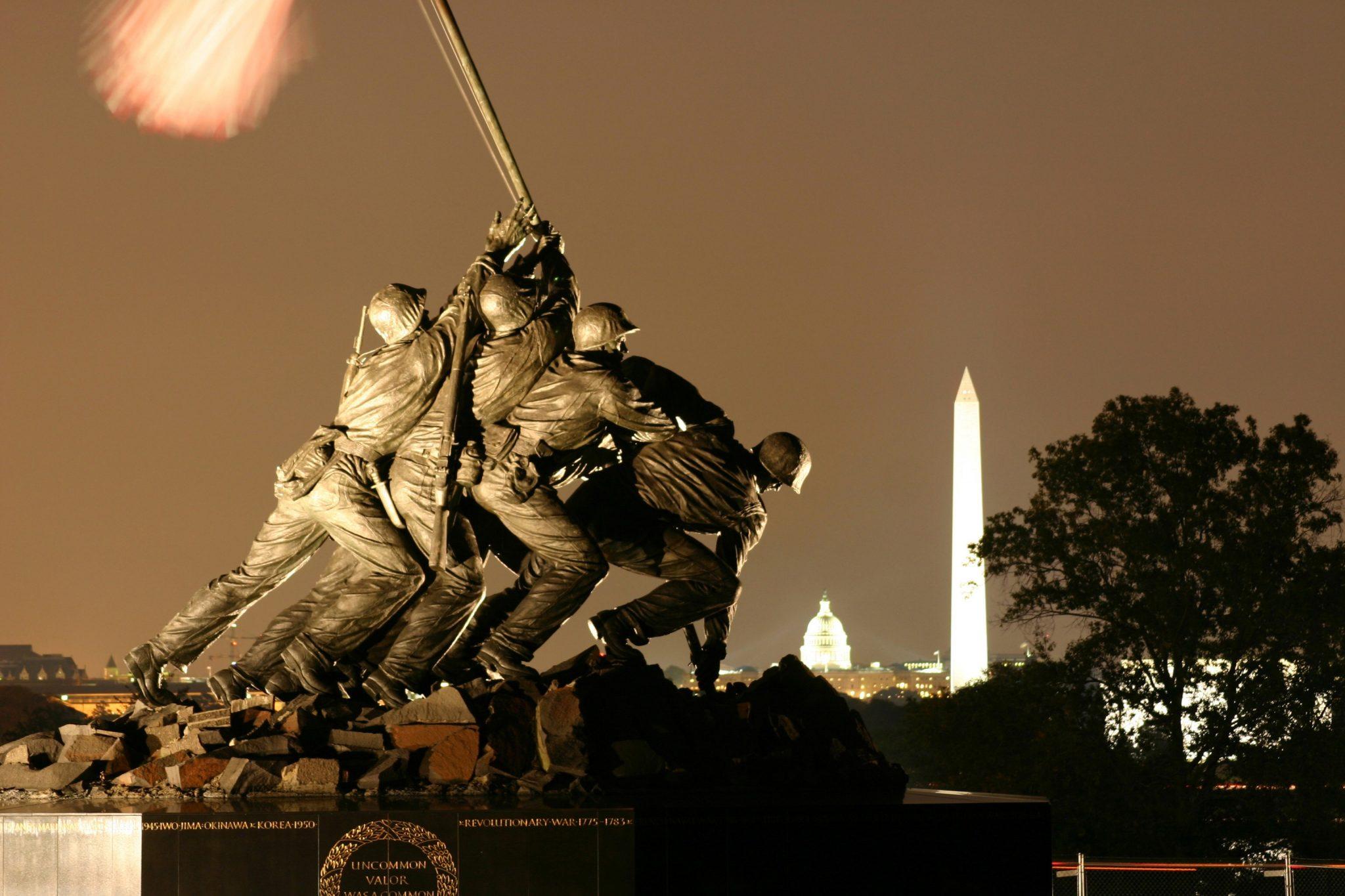 USMC War Memorial Iwo Jima