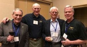 LtGen Fred McCorkle, USMC (Ret), CAPT Ted Triebel, USN (Ret) ADM Joseph Prueher, USN (Ret), GEN James Amos, USMC (Ret)