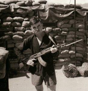 McMahon with Captured AK-47