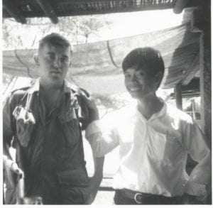 McMahon with Vietnamese Villager